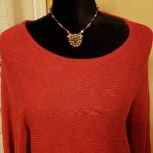 New With Tag. Red Alfani Sweater